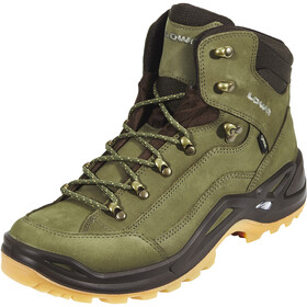 Lowa Renegade GTX Mid Shoes Men forest/dunkelbraun